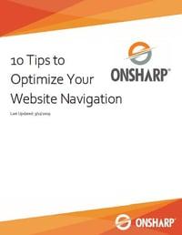Screenshot - 10 Tips to Optimize Your Website Navigation